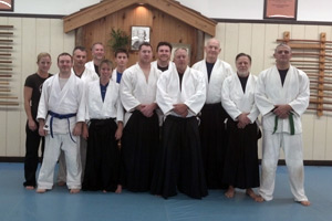 Congratulations on your promotion in Aikido everyone!
